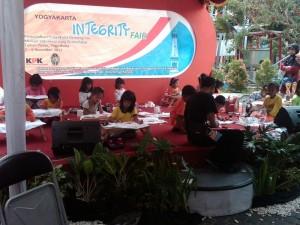 KPK Mengadakan Integrity Fair di Taman Pintar Yogyakarta