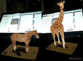 Bermain Sambil Belajar dengan Animal Aphabet Cards - Augmented Reality