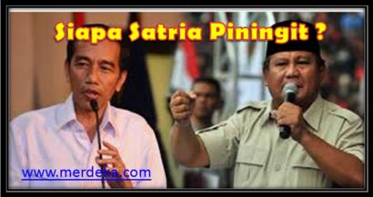 Siapa Satria Piningit? Prabowo Subianto atau Joko Widodo? (Satu Koreksi Terhadap Tafsir 7 Satria Piningit Rangga Warsito)