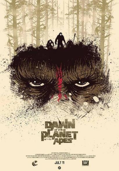 "Review ""Dawn Of The Planet Of The Apes (2014)"" : Koyaknya Kepercayaan Antarspesies"