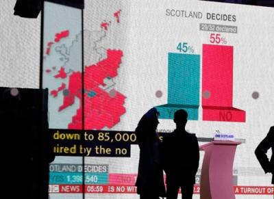 Referendum Skotlandia, Setelah Opsi 'Merdeka' Ternyata Kalah