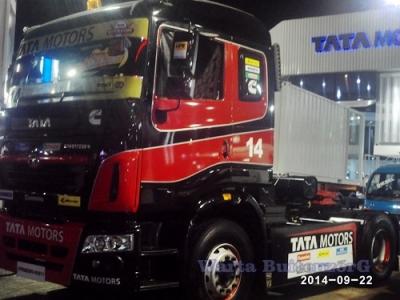 TATA Tampilkan Truk Spesialis Untuk Rally