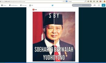 """""""Soeharto Berwajah Yudhoyono"""" (Mantan Terparah)"""
