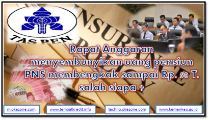 Agus Martowardojo Menguak Pembohongan Publik tentang APBN untuk Dana Pensiun PNS/TNI/POLRI?