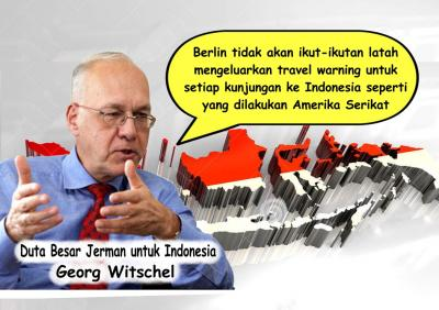 Jerman Promosikan Indonesia Aman