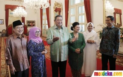 Jokowi dan SBY dalam Jabatan Presiden yang Berbeda Sikap