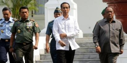 PRO-KONTRA: Ke Istana Bogor, Jokowi Jauhi Megawati