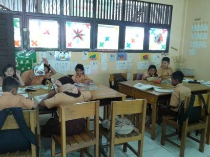 Tugas Sekolah Dasar Tak Mesti Dikerjakan di Buku Tulis (Menilik SD Negeri di Singkawang)