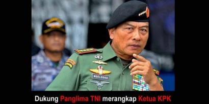 Soal Kisruh KPK-BG, TNI Beri Peringatan Pertama