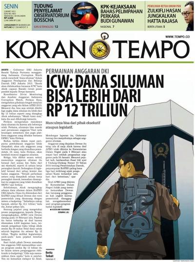 Ahok 'Adu Domba' Rakyat dengan DPRD?