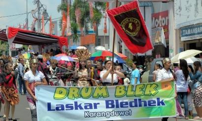Drum Blek, Marching Band Ala Salatiga