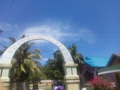 Benteng Otanaha di Gorontalo