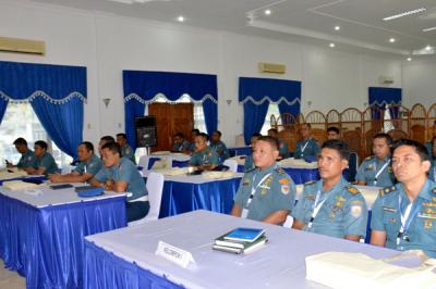 Perwira Yonmarhanlan I Ikuti Diseminasi Hukum Humaniter Internasional dan HAM