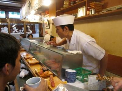 Menikmati Sushi Paling Enak sedunia di Tokyo