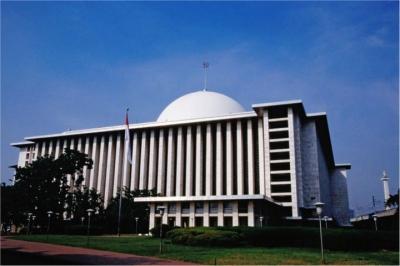 Ada Penyewaan Mukena di Istiqlal ?